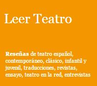 leer teatro
